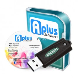Aplus Retail Portal System with Accounting/Billing/Stock/POS/Item Batch Control (Single Company / 1 User) - RPS12k/POS12